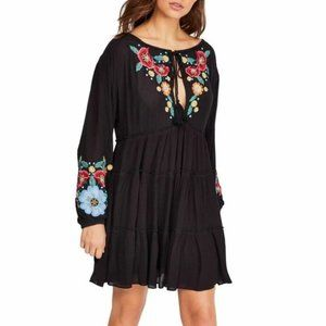 Free People Spell On Your Embroidered Dress. M